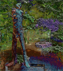 The Sculptor's Angst. Best Large. (Tim Noonan) Tags: sculpture table landscape artist cast georgian material armature angst cezanne polyurethane treatment tedfullerton