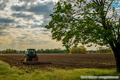 Yankee Farmlands  65 (J. G. Coleman Photography) Tags: tractor field rural countryside spring farm connecticut country newengland farmland fields agriculture plowing cromwell springtime bucolic farmequipment cultivating nutmegstate southernnewengland