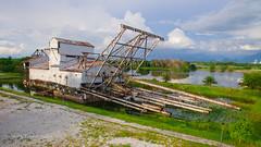 Tanjung Tualang Tin Dredge (mohderwanhafizi) Tags: tin dredge tanjung korek kapal tualang
