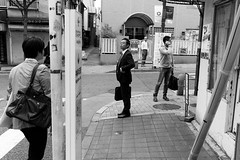Kagurazaka, Tokyo (fabiolug) Tags: street leica people blackandwhite bw men monochrome lines japan 35mm japanese tokyo blackwhite asia streetphotography rangefinder summicron monochrom biancoenero kagurazaka leica35mm leicam 35mmsummicronasph leicasummicron summicron35mmf2asph 35mmf2summicronasph summicronm35mmf2asph mmonochrom leicammonochrom leicamonochrom