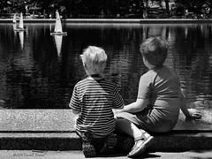 Young Captains (CVerwaal) Tags: nyc blackandwhite usa ny newyork children centralpark sailboatpond sonyrx100iii