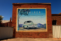 Holden Sign (Darren Schiller) Tags: old art heritage history sign wall advertising portland automobile australia newsouthwales holden