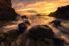 Playa de la Pava (Antonio Carrillo (Ancalop)) Tags: sunset espaa landscape atardecer spain nikon paisaje murcia mazarron d810 puertodemazarron antoniocarrillo nikond810 1424mm nikkor1424mmf28 ancalop