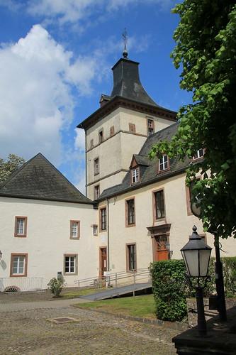 Schloss Wiltz - Stadtteil Oberwiltz