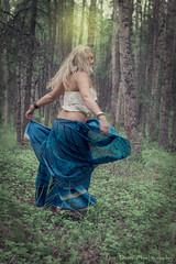 Forest Dance (Luv Duck - Thanks for 14M Views!) Tags: forest modeling skirt blonde select beautifulgirl dancinggirl caley alaskansummer girlintheforest summerinalaska alaskangirls anchoragegirls