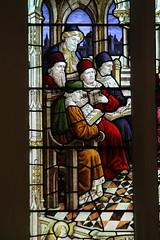 Spridlington, St Hilary's church, window detail (Jules & Jenny) Tags: detail window spridlington sthilaryschurch