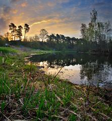 The River-Panorama (lhemund) Tags: morning sky panorama nature sunrise landscape dawn nikon wideangle pan tamron 10mm sundawn d7000 tamron1024