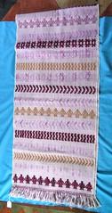 Mixtec Rebozo Oaxaca Mexico (Teyacapan) Tags: costa mexican oaxaca textiles caracol mixtec weavings rebozo coyuchi