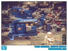 Rush hour (Priovit70) Tags: lego minifigures space classicspace benny mrrobot speeder rushhour spaceship modelexpo2016 diorama olympuspenepl7