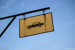 Sign (bojansolar) Tags: sign car old rusty