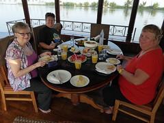 Breakfast on Board (Aidan McRae Thomson) Tags: india boat houseboat kerala kumarakom