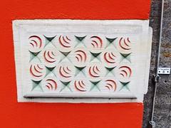 Patterns on the Brick (L'Oriol.) Tags: city brick pattern center bremen arquitecture