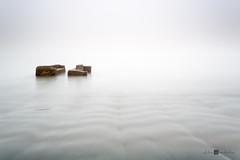 _D3L3866 (Alex Anabaln) Tags: costa clouds landscape playa paisaje nubes neblina oceano