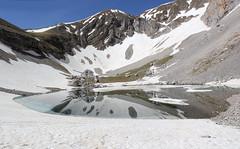 Meraviglia dei Sibillini (Roberto Tarantino EXPLORE THE MOUNTAINS!) Tags: montagne lago neve di marche maggio monti pilato sibillini azzurri laghi
