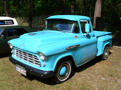 Chevrolet Cameo 3100 Pick-Up 1956 (Zappadong) Tags: auto classic chevrolet car automobile force pickup voiture coche classics otter cameo oldtimer series 1956 oldie carshow task 3100 youngtimer 2016 automobil oldtimertreffen zappadong