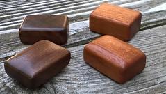 Ring Boxes! (Smile Moon) Tags: box ringbox pillbox stashbox walnut mahogany smile moon smilemoon woodworks woodcraft handmade etsy woodworking