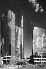 Milano - Agosto 2014 (Maurizio Tattoni....) Tags: blackandwhite bw italy milano bn lombardia architettura biancoenero monocrome mauriziotattoni
