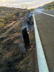 Bug Creek Fire (June 28, 2016) (Arizona Department of Transportation) Tags: bugcreekfire i17 interstate17 cordesjunction az