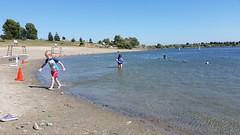 beach day (marymactavish) Tags: california swimming play fremont ebrpd quarrylakes