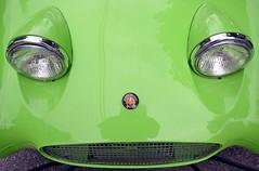 BugEye / FrogEye (WhiPix) Tags: auto color green neworleans sprite british lime frogeye sportscar austinhealey bugeye 8544