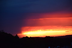 Layered storm clouds (hansntareen) Tags: sunset storm weather approachingstorm layeredclouds