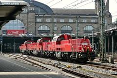 P2300187 (Lumixfan68) Tags: eisenbahn db cargo bahn 261 265 deutsche loks baureihe gravita voith dieselloks rangierloks