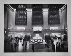 the romance of grand central... (deena21_) Tags: nyc newyork fujifilm gct grandcentralterminal 42ndstreet polaroidlandcamera instantfilm fp3000b