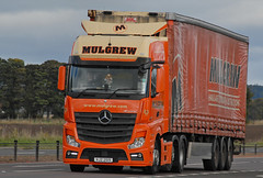 Mercedes BENZ - Mulgrew Haulage  VJZ 2519 (john_mullin Thanks for 12 million views) Tags: uk truck scotland transport perthshire scottish goods vehicles lorry perth delivery vehicle british trucks tayside freight trucking distribution logistics supply commercials lorries haulage hgv
