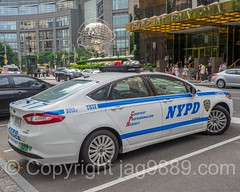 NYPD Police Patrol Car, Central Park West, New York City (jag9889) Tags: auto nyc newyorkcity usa ny newyork ford car hotel automobile unitedstates outdoor manhattan lodging unitedstatesofamerica nypd midtown transportation upperwestside vehicle hybrid trump columbuscircle lawenforcement finest uws centralparkwest 2016 firstresponder policedepartment newyorkcitypolicedepartment policepatrolcar jag9889 20160604