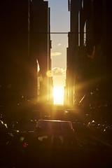 (martinol42) Tags: leica sunset newyork 90mm 42nd manhattanhenge sunstar elmarit
