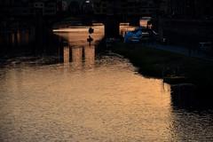 arno (io.robin) Tags: arno lungarno ponte pontevecchio firenze florence toscana tuscany tramonto