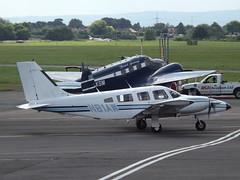 N81AW Piper Seneca 34 (Aircaft @ Gloucestershire Airport By James) Tags: james airport gloucestershire piper 34 seneca lloyds egbj n81aw