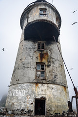 ,     (alex.eganov) Tags: nikond750 tamron2470mmf28 sakhalin russia lighthouse cape sea rock nuclear oldest karafuto japanese building fog     aniva