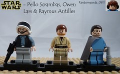 Pello Scrambas, Owen Lars & Raymus Antilles (Random_Panda) Tags: show film television movie star tv lego fig films character figure movies shows characters wars minifig minifigs figures figs minifigure minifigures