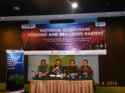 Press Conference (from left Wawan Ridwan,Agus Dermawan, Luky Adrianto & Mukhlis Kamal)