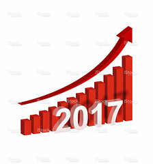 [Clipping path] Year 2017 Growth Chart isolated on white background (imagesstock) Tags: red white chart marketing sale report performance plan progress graph business growth whitebackground planning diagram savings ideas success development isolated improvement banking bullmarket finance histogram concepts inflation stockmarket linegraph analyzing 2017 threedimensionalshape bargraph bankaccount globalbusiness heightchart isolatedonwhite globalfinance financialfigures stockmarketdata arrowsymbol businessgraph  year2017