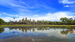 Angkor Wat, panoramica (Franz - Jimenez) Tags: cambodia camboya asia southeast unesco angkor wat angkorwat pano panoramica sky landscape temple legend pound reflection nature travel canon eos600d