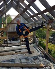 #россия #рубеж #я #работа #доски #пленка #крыша #работаем #наверху #лето #солнце #тепло #21июня #2016год #безфильтра #инста #russia #work #boards #roof #summer #heat #june21 #2016year #nofilter #insta #galaxys7edge #faslockon