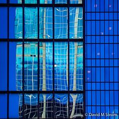 Minneapolis Windows (David M Strom) Tags: lines pattern skyscraper olympusomdem5 minneapolis abstract architecture davidstrom minimal reflections idscenter