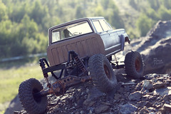 1970-s J-20_54 (My Scale Passion) Tags: old mountain scale truck vintage rocks jeep modeling body wide double retro climbing custom build scratch crawling rc wraith j20 crawler lifted styrene axial tekin scx10 myscalepassion