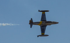 T-33 Fly-By (EHPett) Tags: airplane fighter unitedstates airshow usaf trainer shootingstar t33