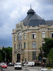 Central University Library of Cluj-Napoca (Bogdan Pop 7) Tags: old city summer architecture europe centre romania transylvania transilvania kolozsvar cluj clujnapoca roumanie 2016 vara erdly erdely kolozsvr ardeal bcu romnia arhitectura klausenburg var bibliotecacentralauniversitara arhitectur