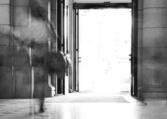 Final Destination (DMD67) Tags: longexposure light blackandwhite bw woman abstract motion blur monochrome washingtondc movement nikon dcist unionstation 1755 1755mm nikon1755 nikonafsdxzoomnikkor1755mmf28gifed nikkorafs1755 nikond7100