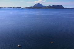 Norwegian Sea (Aerial Photography) Tags: water norway boat norge meer wasser outdoor norwegen aerial nor luftbild luftaufnahme fotoklausleidorfwwwleidorfde europischesnordmeer