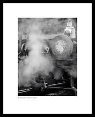 Blowing Off Steam (Mike Palmer Fauxtography. Mainly OFF) Tags: canon eos 60d efs1785mm f456 is usm chinnor princesrisborough railway locomotive londontransport steam engine loco rail 5786 l92 south devon worcesterlocomotivesociety michaelpalmer