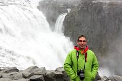 The Icelandic Strength (daniel.virella) Tags: me island waterfall iceland daniel eu foss byz picmonkey