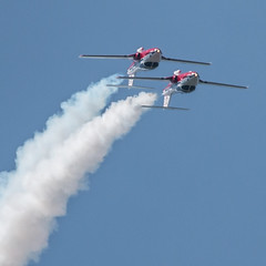 QIAS 2016 - Now Can We Go Down? (Jay:Dee) Tags: 2016 qias quinte international air show airshow cfb canadian forces base trenton aviation aircraft airplane military jet trainer snowbirds 431 demonstration squadron aerobatics ct114 canadair tutor