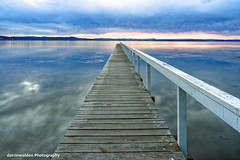 Long Jetty, Central Coast, Australia (darrinwalden Photography) Tags: australia jetty timber color clouds lake wharf sony