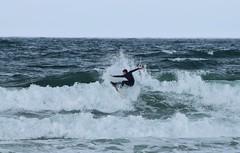 Onshore surf (skippyjon2010) Tags: white storm cold surf waves surfer atlantic portrush