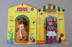 Alina Negra; Alina Majorette (in Blister) (vintage.dolls) Tags: vintage toys spain doll dolls sister blister majorette bb negra core alina
